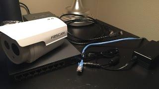 getlinkyoutube.com-Basic Setup: Foscam FI9803ep Outdoor IP Camera