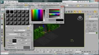 عمل نص ثلاثي الأبعاد ب 3D max