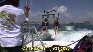 getlinkyoutube.com-Parasailing Sarasota Siesta Key Water Sports