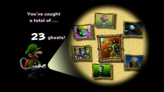 getlinkyoutube.com-All Portrait Ghosts and Boss Battles with Gold Portraits: Luigi's Mansion