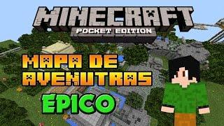 Minecraft PE 0.15.0 | Mapa de aventura (EPICO)