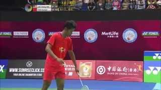 getlinkyoutube.com-Yonex Sunrise Hong Kong Open 2015 | Badminton F M3-MS | Lee Chong Wei vs Tian Houwei