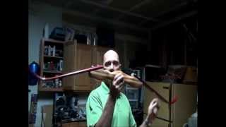 getlinkyoutube.com-Recurve with pvc limbs