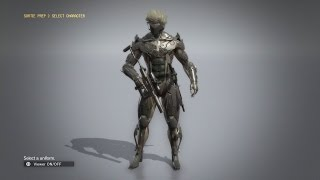 getlinkyoutube.com-Metal Gear Solid V: The Phantom Pain - How to Get Raiden Suit (With Showcase and Gameplay)