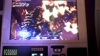 getlinkyoutube.com-Godzilla vs MechaGodzilla slot bonus win at Harrah's Casino