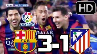 getlinkyoutube.com-Barcelona vs Atlético de Madrid 2015| RESUMEN COMPLETO Y GOLES HD| 11-01-2015| LIGA BBVA