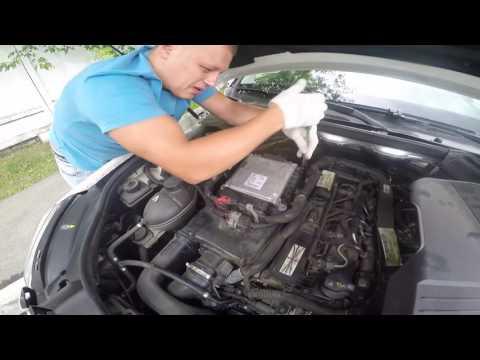 Замена воздушного фильтра Mercedes Benz GLK 220 CDI 2010 год.