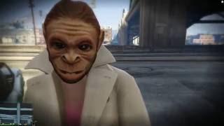 getlinkyoutube.com-[핑맨] GTA5 위대한 도전 : 경찰차 훔치기 [ with 개리 ] 하이라이트 Funny Moments