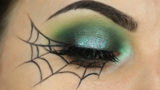 Spider Web Eyeliner Tutorial
