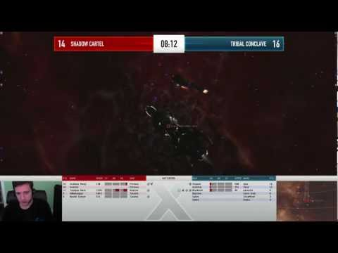 EVE Online - AT10 Day 2 - Shadow Cartel vs Tribal Conclave