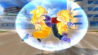 getlinkyoutube.com-Goku GT SSJ3 And Vegeta GT SSJ3 Fusion (Vegetto GT SSJ3)Budokai Tenkaichi 3 Mod!