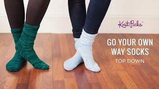 getlinkyoutube.com-Go Your Own Way Socks Top Down - Full Class