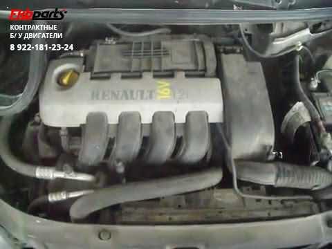 Двигатель Renault Twingo 1 2 16V 75