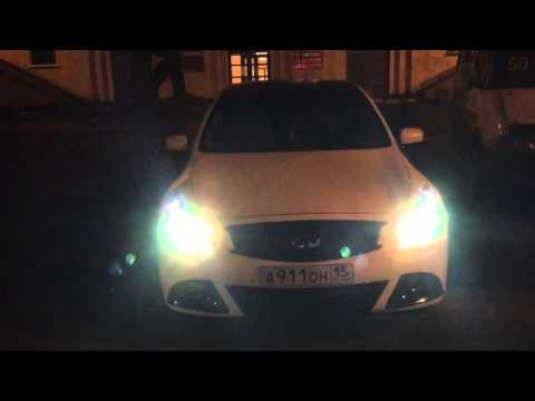 High performance lights Infiniti G