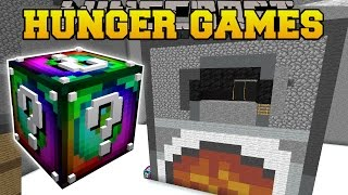 getlinkyoutube.com-Minecraft: WEIRD ROOM HUNGER GAMES - Lucky Block Mod - Modded Mini-Game