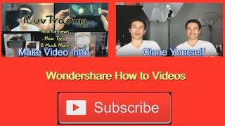 getlinkyoutube.com-Filmora: How to Make an Outro/End Slate/End Card & Make them Clickable