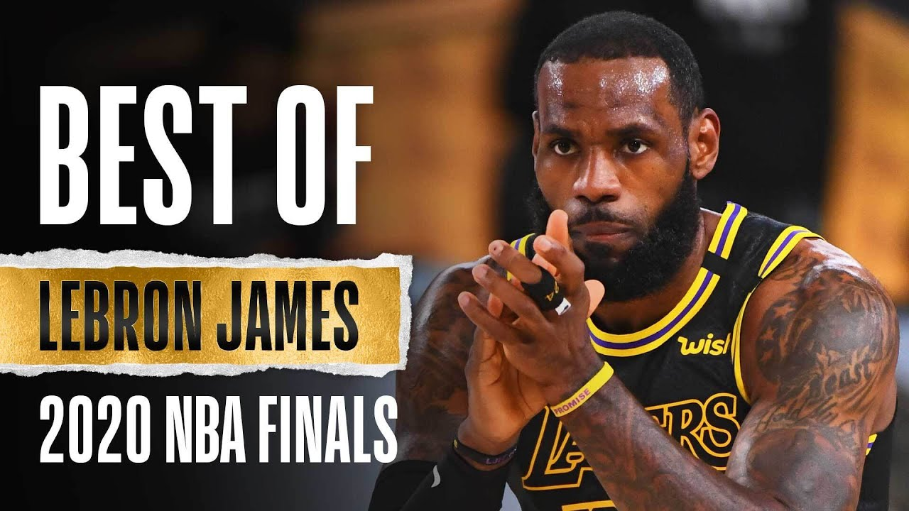 LeBron's Best Plays From The 2020 NBA Finals