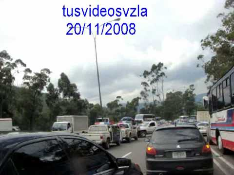 Accidente Bajada De Tazon Caracas Venezuela 20112008