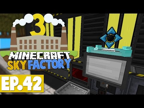 Minecraft Sky Factory 3 - Get Rich Quick! #42 [Modded Skyblock]