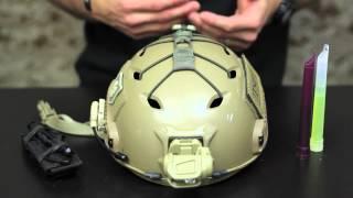 getlinkyoutube.com-Gear Review: Bump Helmet War Bungee from War Sport Industries