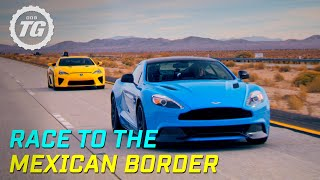 getlinkyoutube.com-Race to the Mexican border - Top Gear Series 19 - BBC