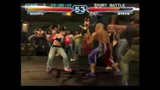 getlinkyoutube.com-Tekken 4 (PlayStation 2) Story Battle as Xiaoyu