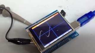 Arduino LCD Osciloscopio DEMO