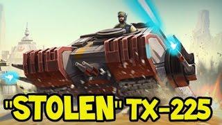 "getlinkyoutube.com-""STOLEN"" TX-225 TANK - Elite ROGUE ONE Unit - Star Wars Commander Rebels #57"