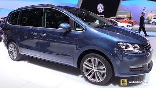 getlinkyoutube.com-2016 Volkswagen Sharan TDI - Exterior and Interior Walkaround - 2015 Geneva Motor Show