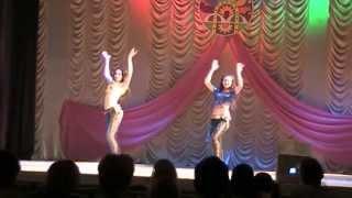 getlinkyoutube.com-Valery Borisenko and  Myrgorod Olga - duo (street shaabi)