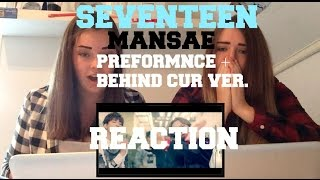 getlinkyoutube.com-SEVENTEN - MANSAE - PREFORMANCE + BEHIND CUT VER. // REACTION