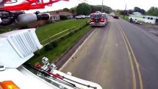 getlinkyoutube.com-GoPro: Truck 3 responding to an outside fire