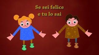 getlinkyoutube.com-Se sei felice tu lo sai etc. | La più grande raccolta di canzoni per bambini piccoli
