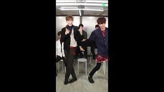 170314 U-KISS - Kiseop, Kevin (+ Soohyun) Dance to 'DAMN!!' (by Eli & Jun)