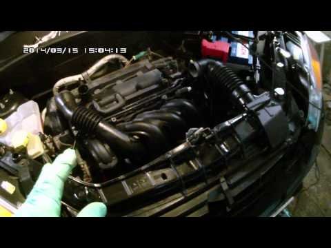 Замена масла на Ford Fusion