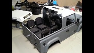 getlinkyoutube.com-RC4WD Defender D90 Pickup conversion (well my version of it anyway)