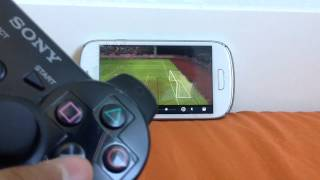 getlinkyoutube.com-PS3 Controller Gameplay Android (Dream League Soccer)