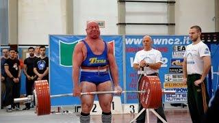 Antonio Russo Campione del Mondo di Powerlifting