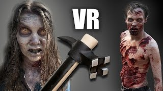 How to SURVIVE a Zombie Apocalypse! VR - Virtual Reality Experience