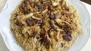 مقلوبة القنبيط Cauliflower Makloubeh