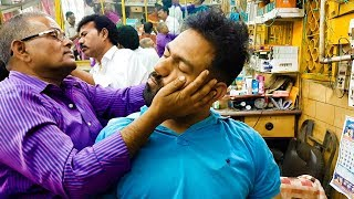 Asmr head massage with neck cracking ( Sarwan shop series 2)