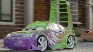 getlinkyoutube.com-CARS ALIVE ! Cars 2 gameplay - Wingo in Hyde Park London.