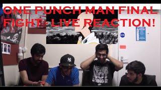 getlinkyoutube.com-ONE PUNCH MAN | SAITAMA VS BOROS FINAL FIGHT LIVE REACTION | BEST ANIME FIGHT EVER?!