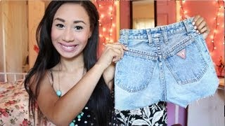 D.I.Y High Waisted Shorts
