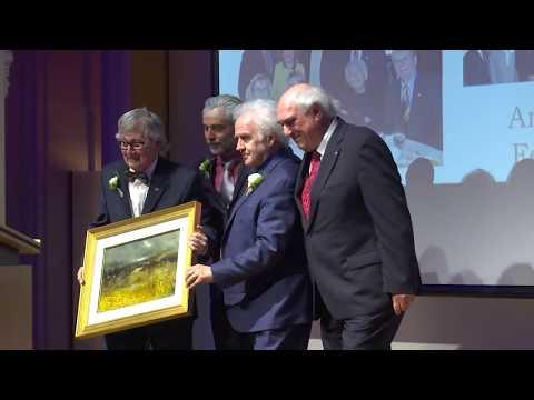 Armand Ferland honoré par le Club Rotary Québec-Est
