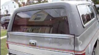 getlinkyoutube.com-K-5 BLAZER REAR WINDOW PROBLEMS