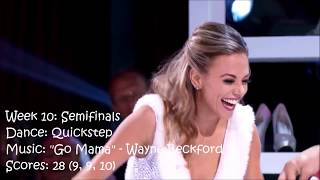 Jana Kramer - All Dancing With The Stars Performances