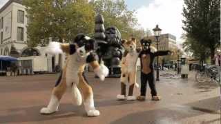 EZwolf's Furry Gangnam Style Видео о Фурриях