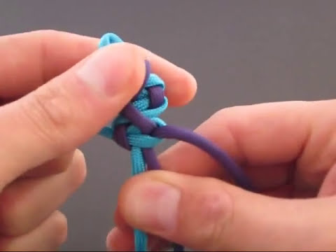 How to Make a Crooked River Bar (Paracord) Bracelet by TIAT