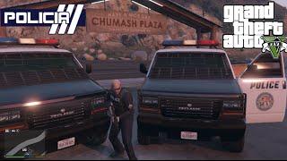 GTA V - PoliceMod 1.0c: Perseguição insana de VAN #6